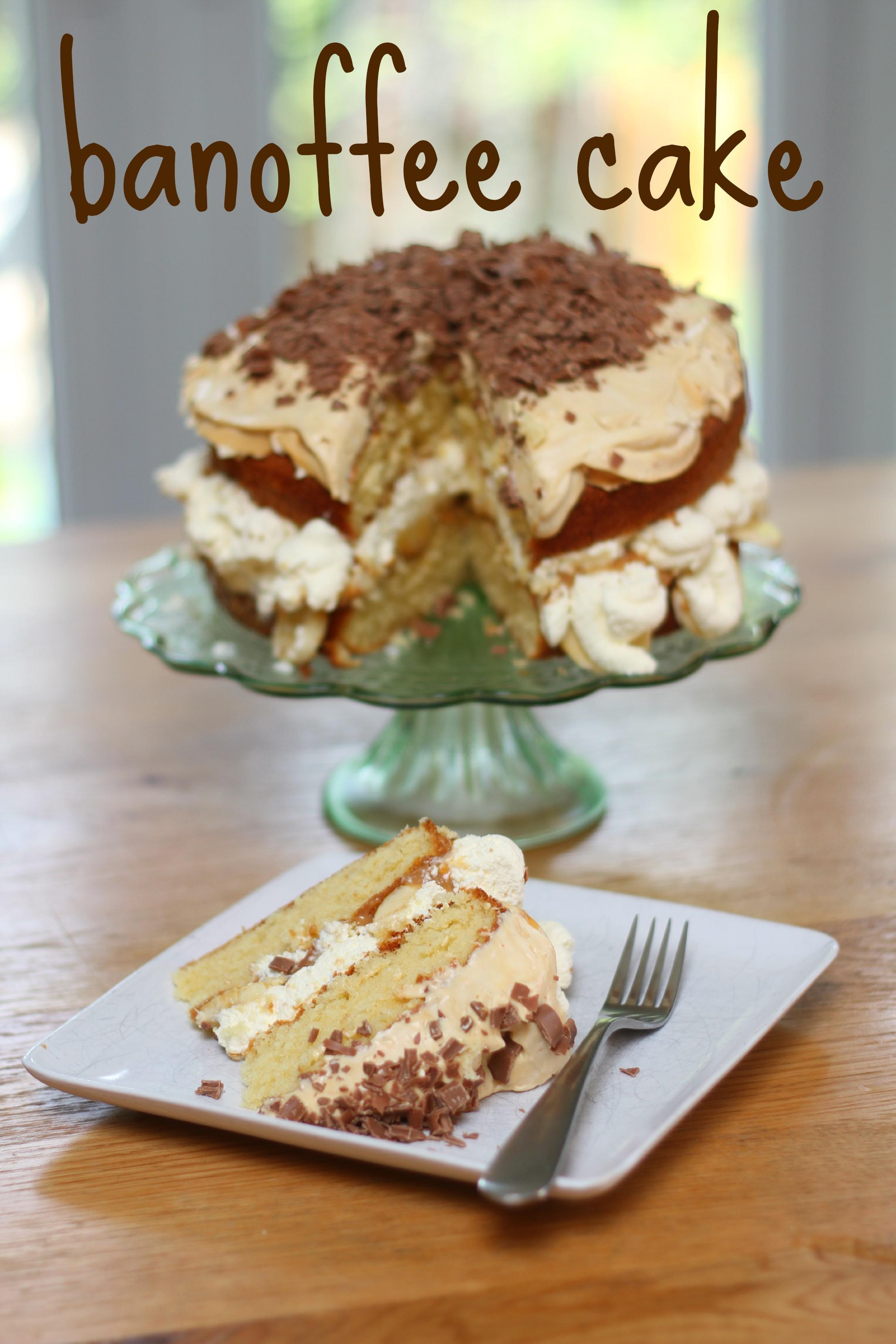 Banoffee Cake Mummy Mishaps