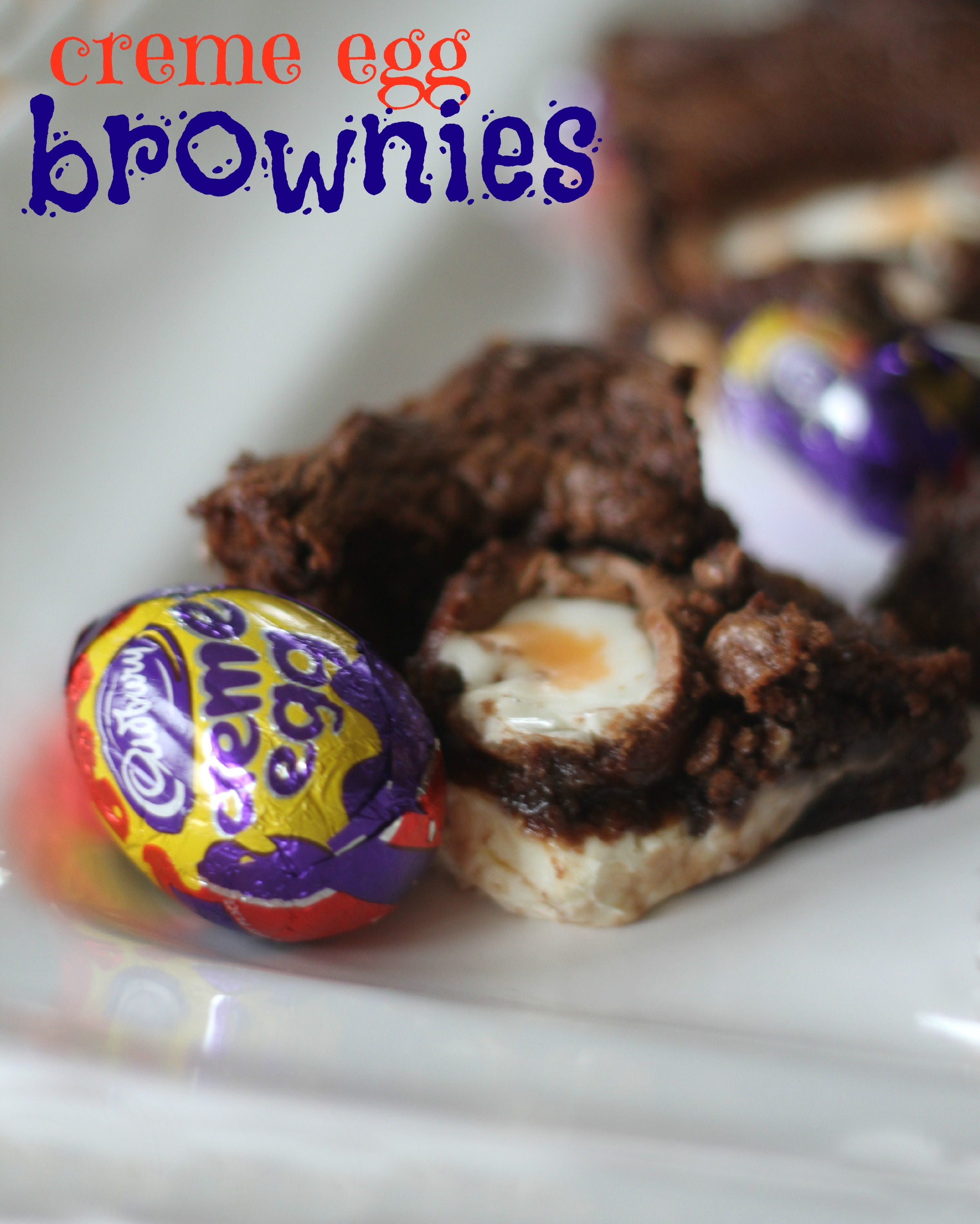 Use These Cookbooks If You Re Broke But Still Want To Eat: Easiest Creme Egg Brownies Ever!