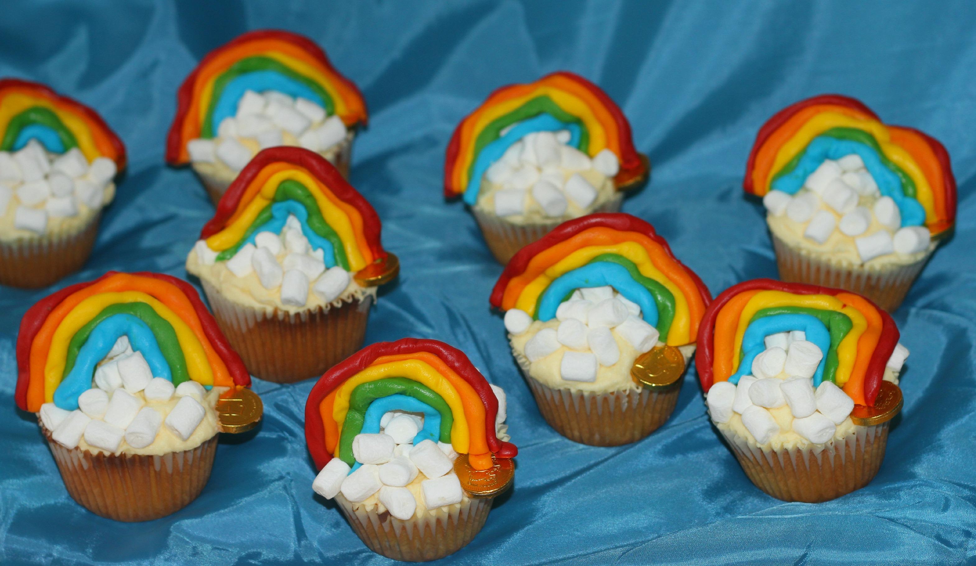 Rainbow Cupcakes Mummy Mishaps