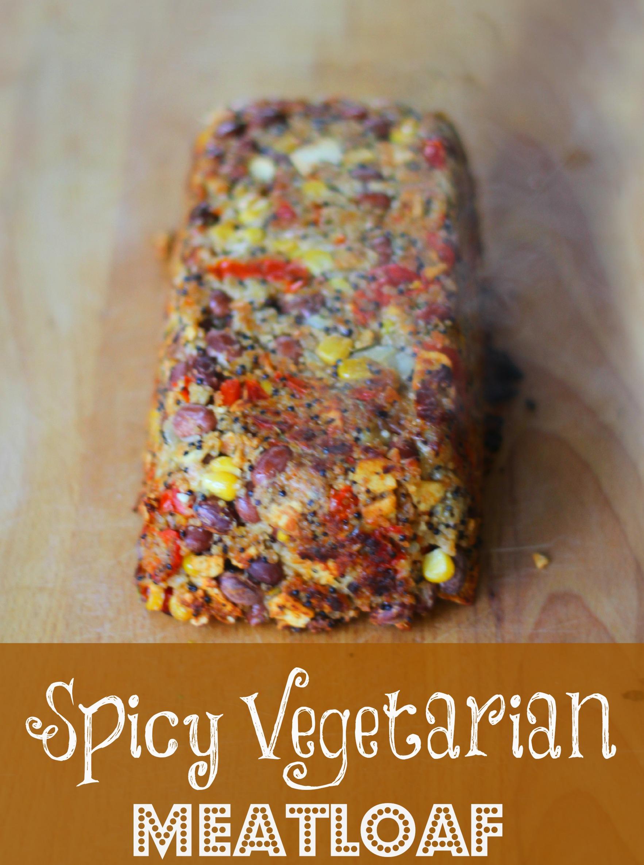 Spicy Vegetarian Meatloaf
