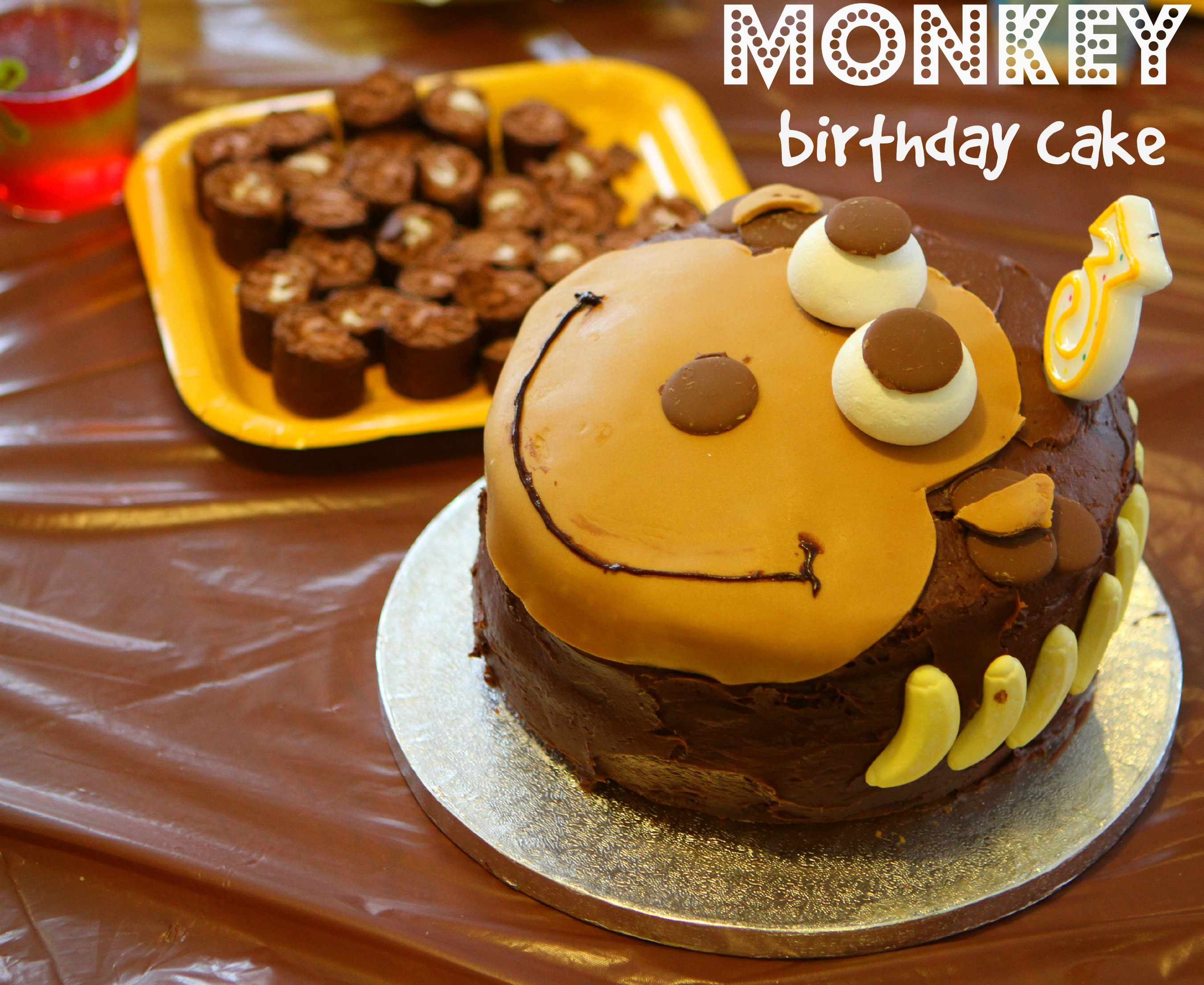 A Monkey Cake Amp Birthday Party Mummy Mishaps