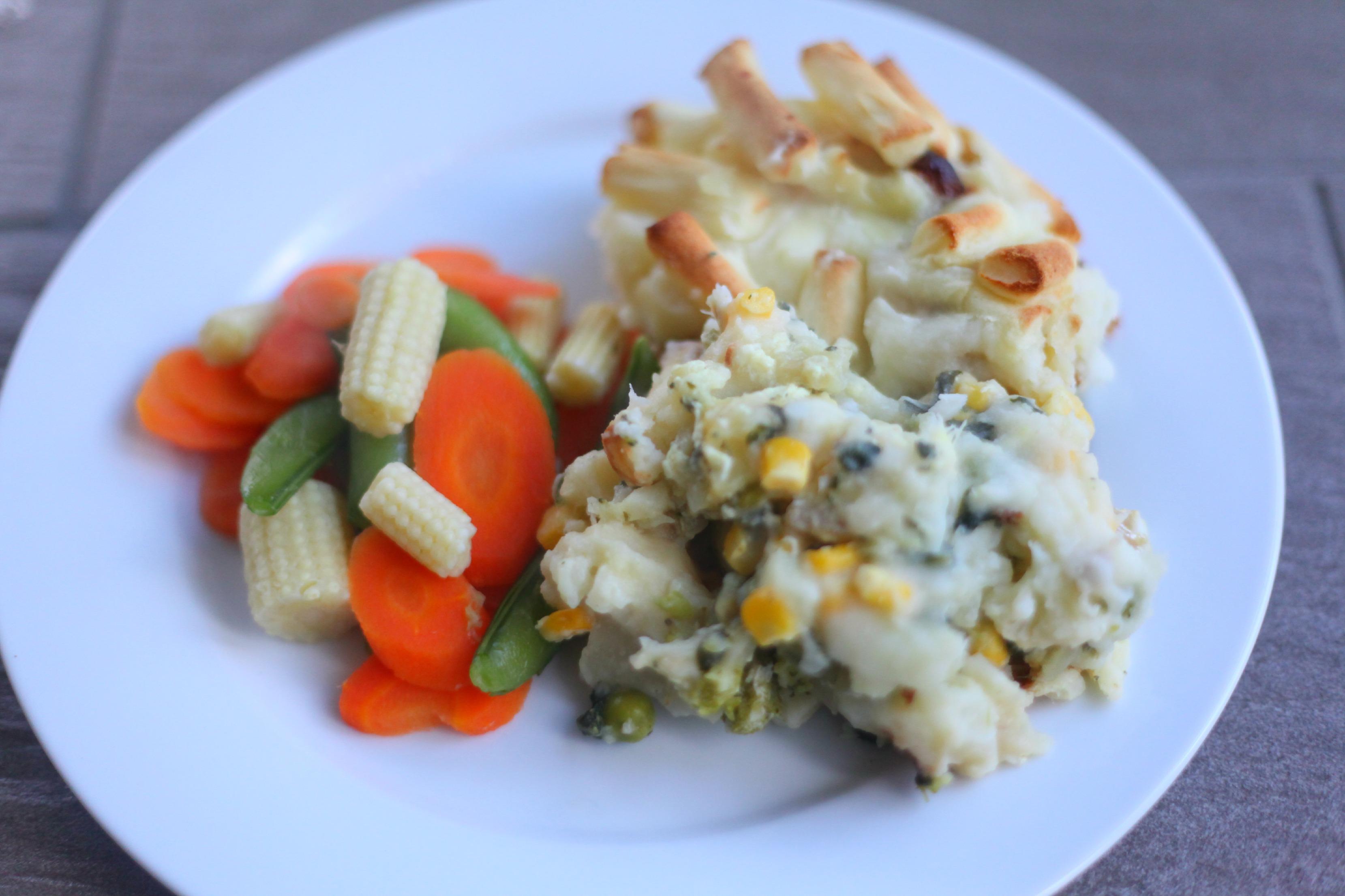 Cauliflower Cheese & Fish Pie - Mummy Mishaps