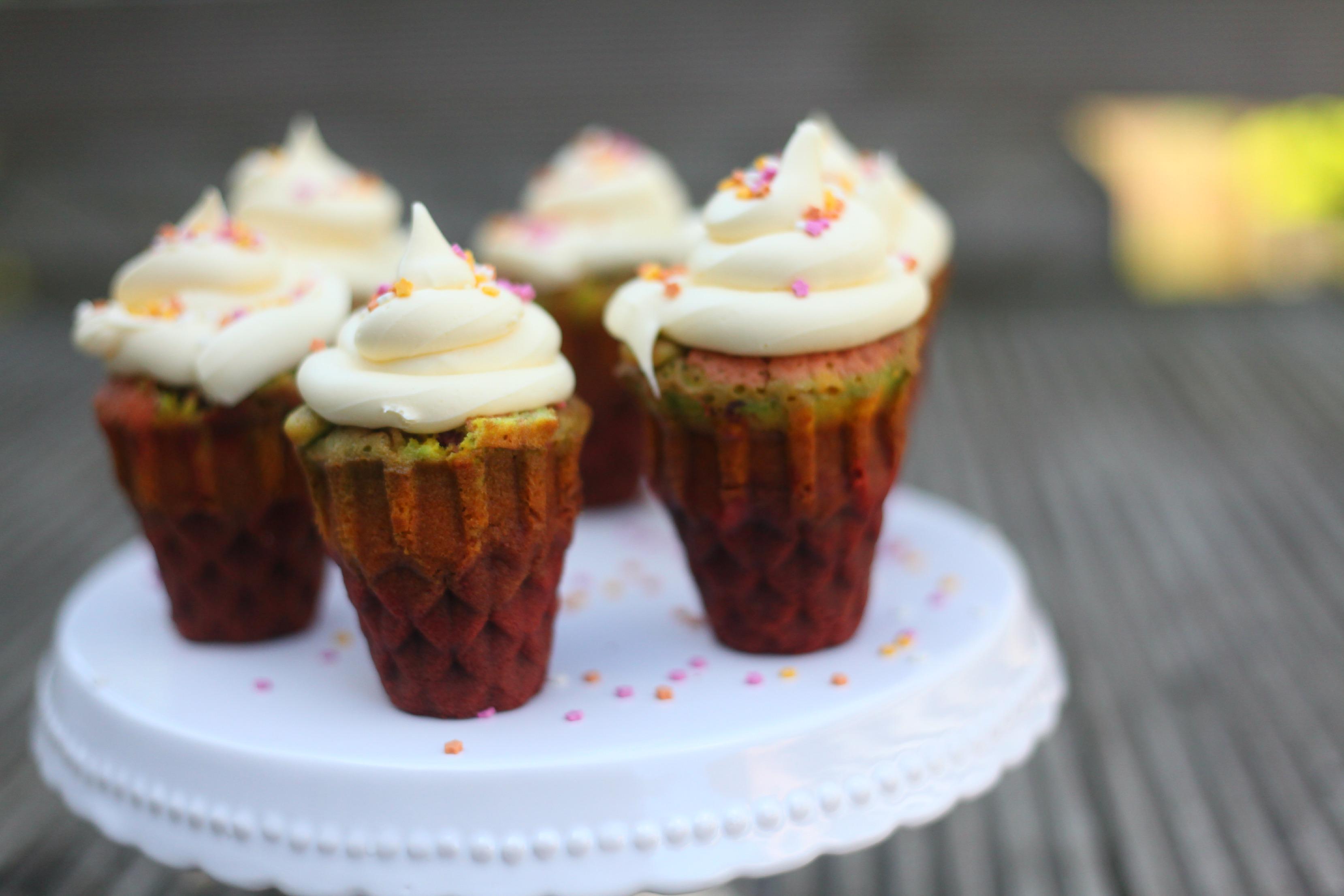 Rainbow Ice Cream Cupcakes Mummy Mishaps