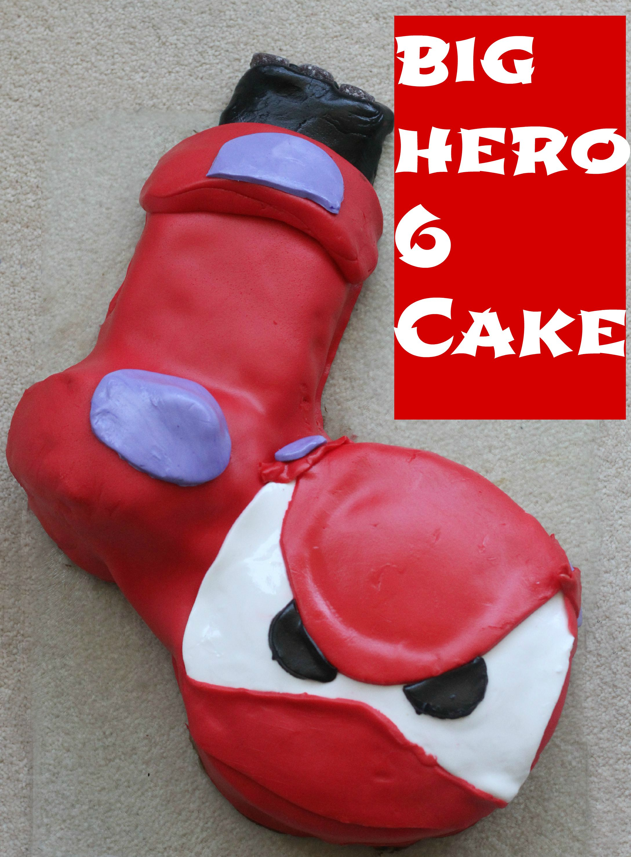 Big Hero 6 Cake Mummy Mishaps