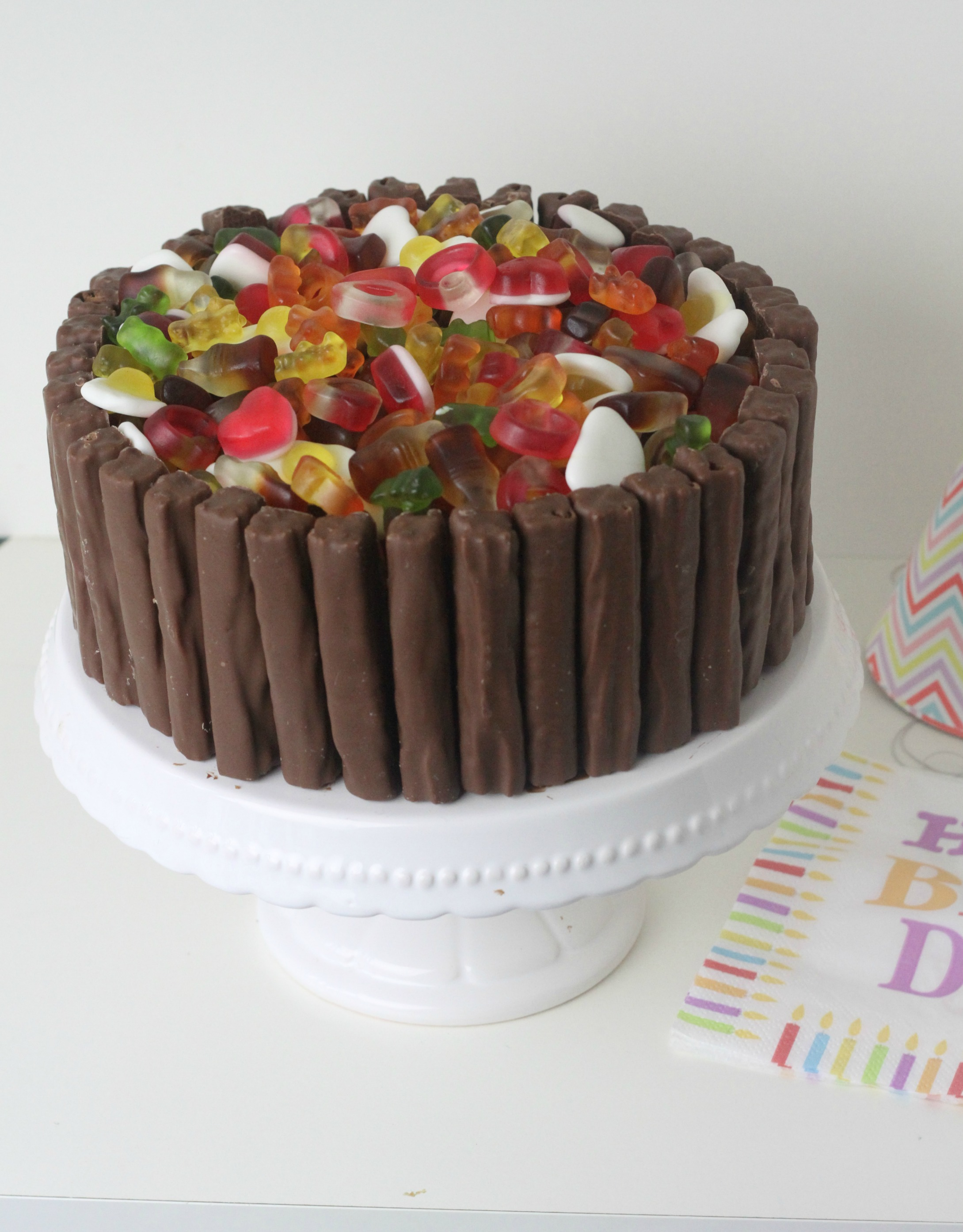 Haribo Amp Cadbury S Twirl Chocolate Celebration Cake