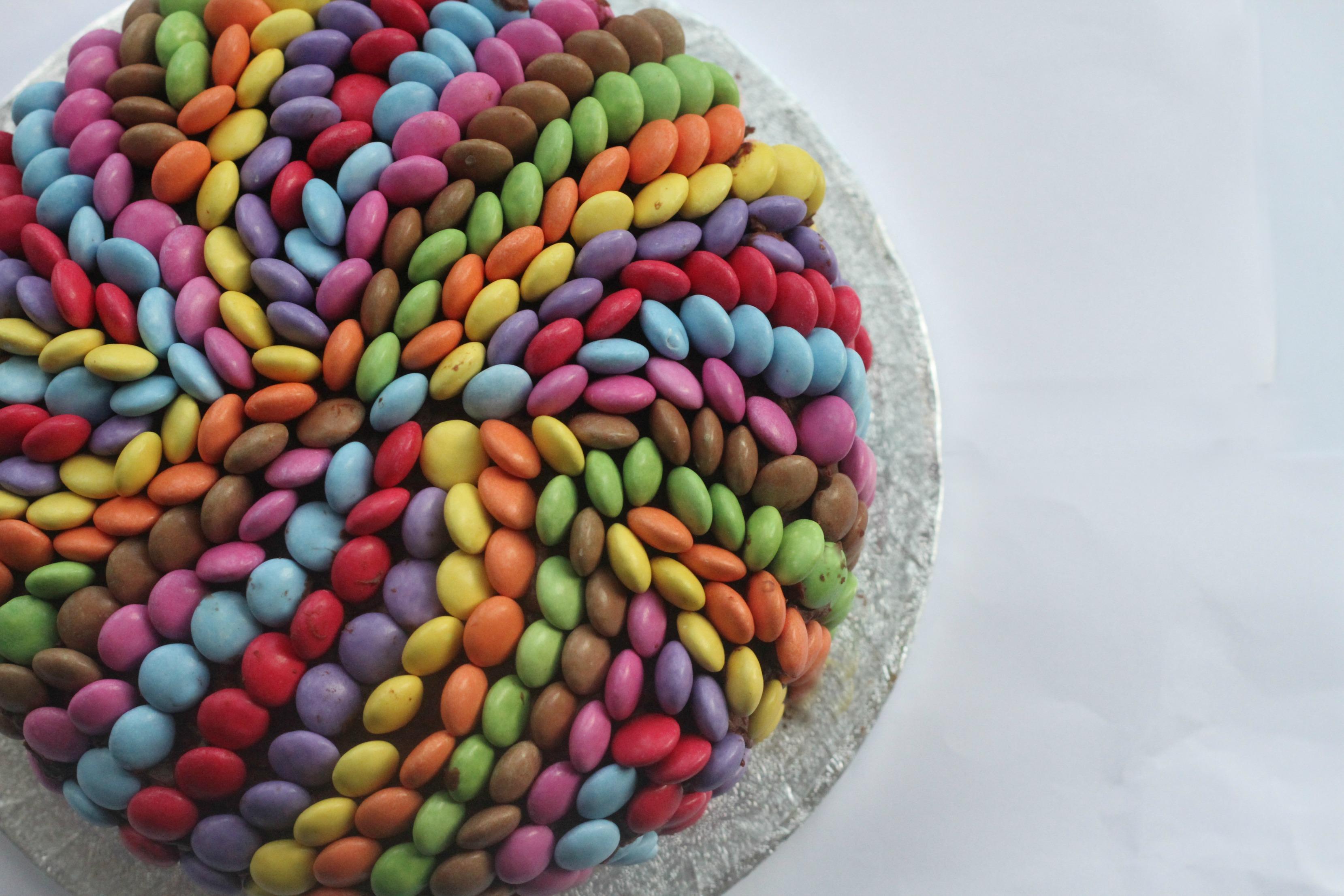 Smarties Chocolate Cake Mummy Mishaps