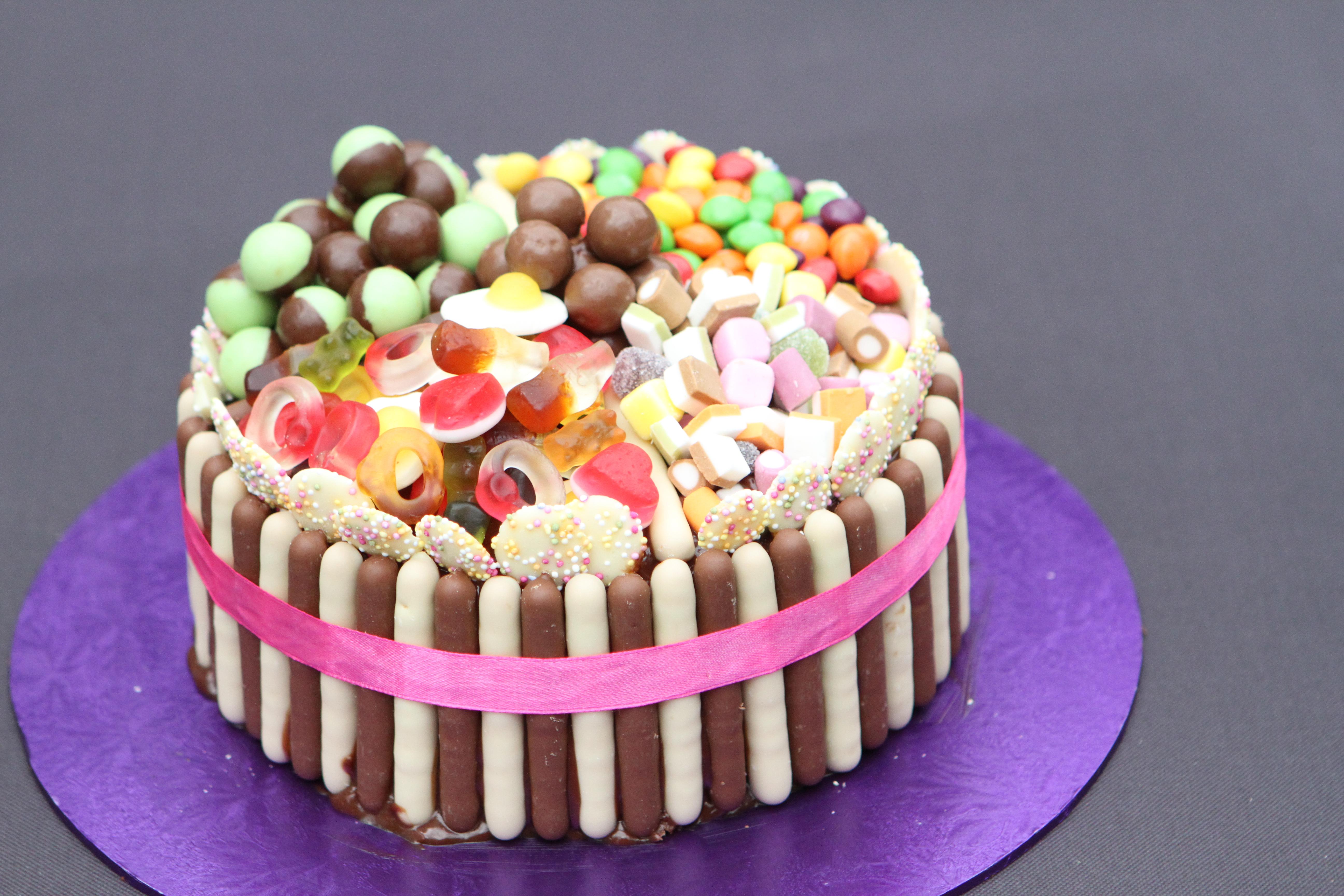 Pick N Mix Chocolate Fingers Cake Mummy Mishaps