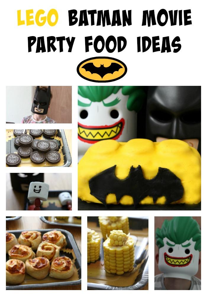 Batman Themed Food Recipes